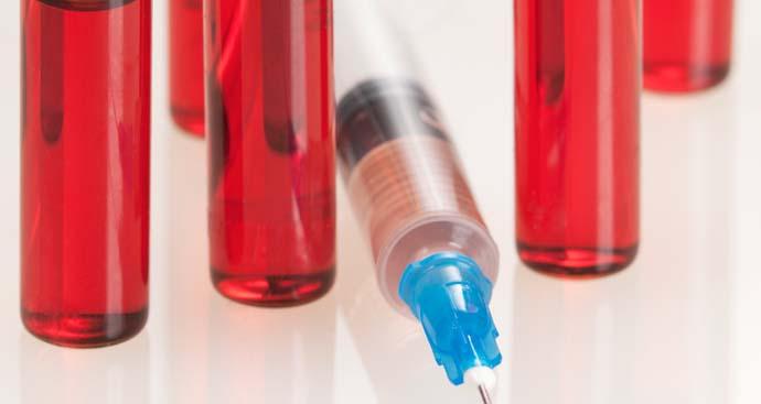 syringe and ampules for B12 fat burner shots